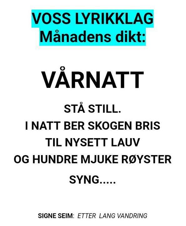 Voss Lyrikklag